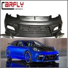 Panamera Fiberglass Body Kits Front Bumper With LED Light For Porsche Panamera