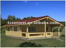 wooden log house, prefabricated houses era