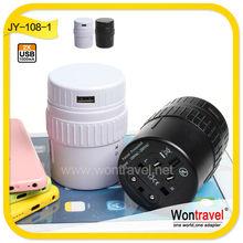High quality factory price USB plug and socket, universal plug USB plug charger adapter for mobile phone, travel plug sockets