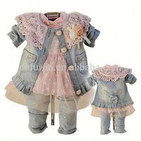 Children clothes wholesale Baby baptism clothes