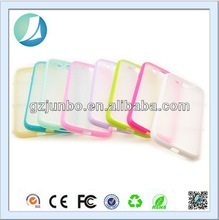 Wholesale Colorful Clear Bumper Flip smart cover case for xiaomi