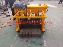 QT40-3A low cost mini concrete paver machine for Africa