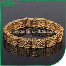 Most Fashionabe of the year men gold bracelet slave bracelet jewelry