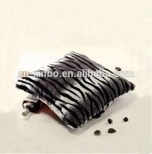 2014 Xinbo various animal skin print fleece cushion cover