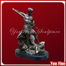 Decoration bronze roman man figure