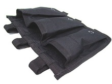 SWAT airsoft molle tripe magazine open top pouch black