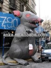 Brinquedos infláveis usados para venda, Bonecas infláveis realistas para anunciar ( inflável mouse / rato modelo )