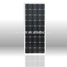 solar panel mono 100W latest technology high quality cheap price 25years lifetime solar cell solar home system solar pump 12V