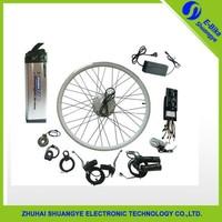 CE battery Electric bicycle kit / E bike conversion kit /24V/36V/48V 250-1000W / hub Motor