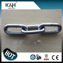 Standard Galvanized Welded DIN 762 Round Link Chain 20*100