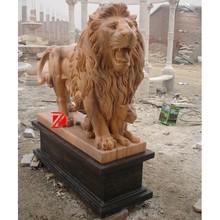 natural stone statue de lion