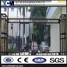 iron sliding pattern door gate wrought iron used