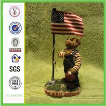 china factory ODM & OEM high quality figurine resin bear