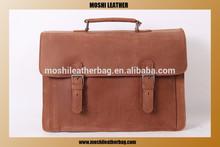 New Arrival Products Crazy Horse Leather Shoulder Bag Laptop Bag For Men