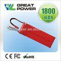 Moderna eco friendly cilíndrica de la batería de li-ion de la célula 3.7v
