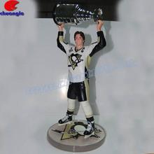OE Player Figurine, Customized Sports Player Statue, Custom Design Sports Player Figure