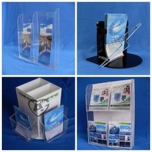 A4/A5/A6 clear plastic flyer holder, leaflet holder, brochure rack