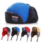 Boy Toddler Kids Winter Hat Fleece Lined Snow Beanie Cap Reversible Both Side