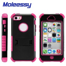Triple layers Defender Cell Phone Case for iPhone 5c,Wholesale to UK
