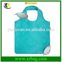 2015 new design of tropical fish shaped folding shopping bag