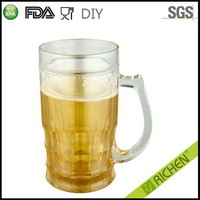 Designer new products double walled bulk plastic coffee mugs