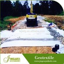 PET separation nonwoven road geotextile construction