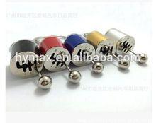 mini car shift knob turbo keychain