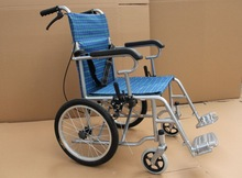 Fold and portable Traveling Wheelchair Lightweight 10Kg