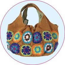 New Design China 2014 Crochet Bag women handbag, fashion handbag, hand-made bag