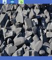 carbono do ânodo bunda de plantas de alumínio