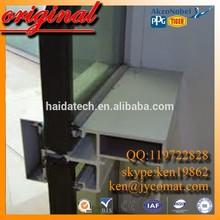 6063 t5 aluminum curtain aluminum bridge insulation curtain wall anodized aluminum curtain wall