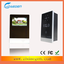 fashion designed video doorphone seller,door release commax intercom