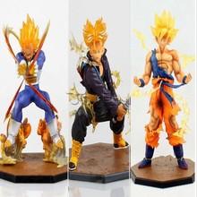 Japanese cartoon Anime Dragon Ball Z Action Figures super saiyan Vegeta Goku Trunks PVC Figure Toys Gift