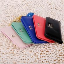 New Fashion Women Fashion Button Clutch Lady Long Wallet Bag SV015021