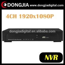 DONGJIA DA-2004A network onvif p2p 4ch 4 channel 1080p nvr cctv system dvr