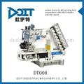 Dt008-08064p 8 иглы полуцилиндр типа ленты крепления двойной цепной стежок одеёды швейные машины цены