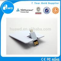 Customize Logo Business Card USB 32GB,Credit card otg USB Flash Drive,usb pormo express