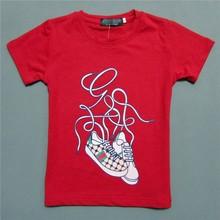 R & H impressão respirável de manga curta OEM novos nomes da moda lojas de roupas crianças