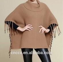 15STC5101 cashmere wool poncho