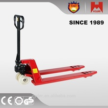PU Pallet Truck Wheels manual transmission type and new condition hand pallet truck or hand jack