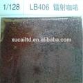 venta al por mayor brillo holográfico café láser escarcha en polvo