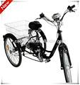 250 W adulto eléctrica de tres ruedas para discapacitados made in China