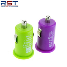 New RST 5V 1A 1-port usb car charger wholesale cell phone chargers colorful car charger