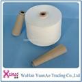 Made in China blanco crudo y brillante hilo de coser de la costura de la máquina