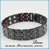 New Arrival !!! 2015 Bio Healing Magnetic Bracelet ,Black Tungsten Pure Healing Energy Bangle