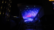 large size shopping mall LED video ceiling