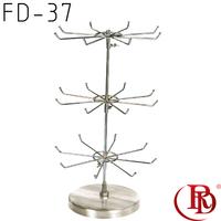 hair bow circular display stand magnetic key rack