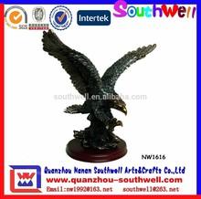 Office Decoration Use Resin Sculpture Eagle