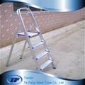 Venta caliente de aluminio escalera, en131 escaleras precio 4 paso escalera