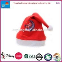 Christmas Hat Decoration /Christmas Hat / Plush Red Christmas Hat / Plush Hat For Christmas